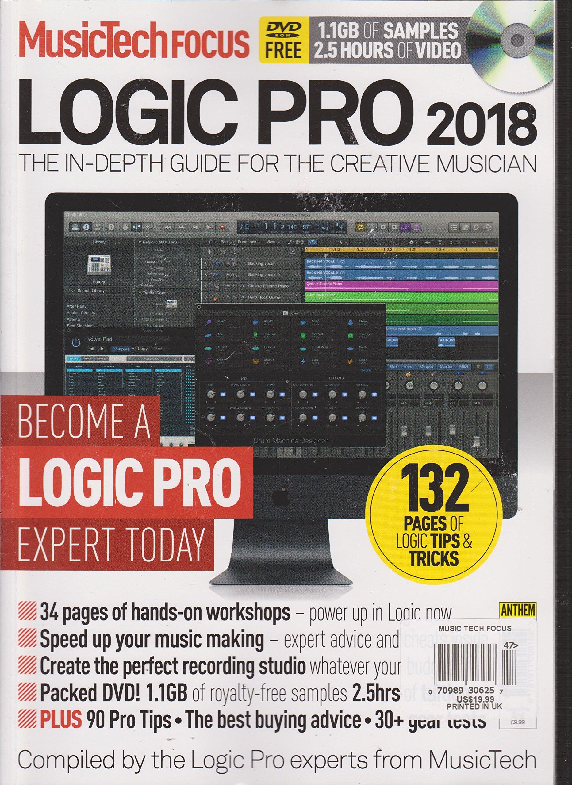 Download Musictech Focus Logic Pro 2018 Magazine ebook