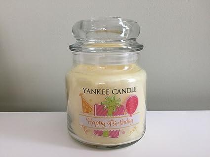 Yankee Candle Happy Birthday 145 Oz Amazoncouk Kitchen Home
