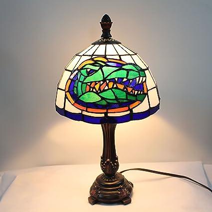 Lámpara de Mesa con vitral de 9 Pulgadas NCAA Florida Gators ...
