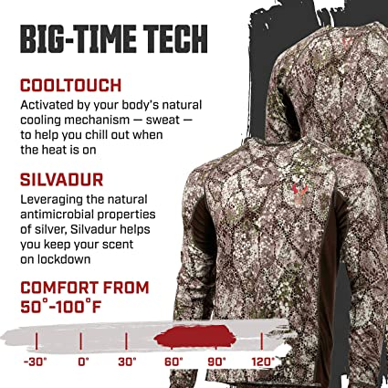 Approach X-Large Badlands Algus Short Sleeve Crew with Cooltouch Technology