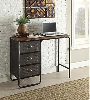 Elegant 4D Concepts Locker Computer Desk In Gray Idea