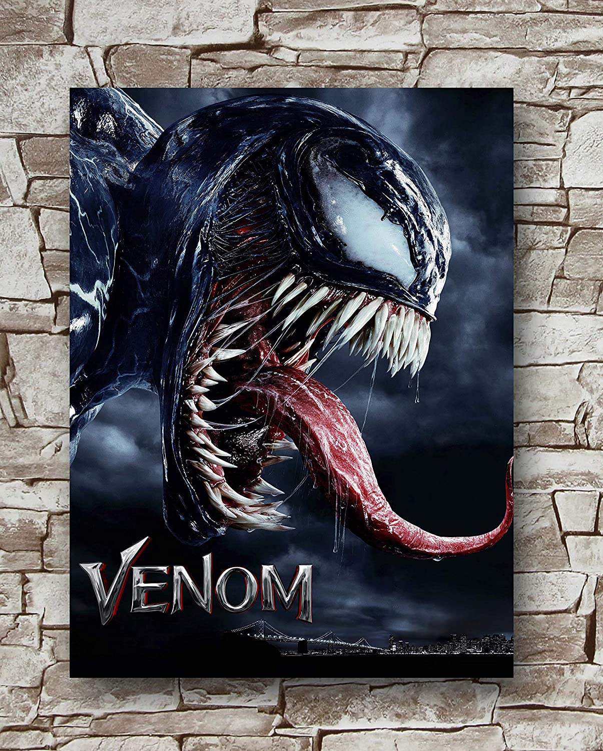Venom Poster Standard Size | 18-Inches by 24-Inches | Venom Movie Posters Wall Poster Print