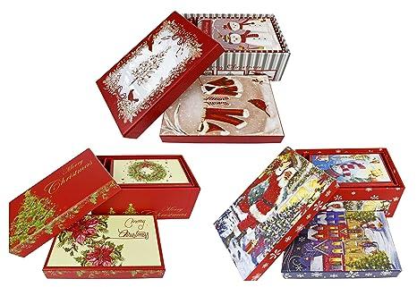 Set de 9 Alef vacaciones temáticas de Nesting diseño de cajas de regalo cajas de Nesting
