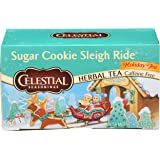 Celestial Seasonings Sugar Cookie Sleigh Ride Tea Bags, 20 ct