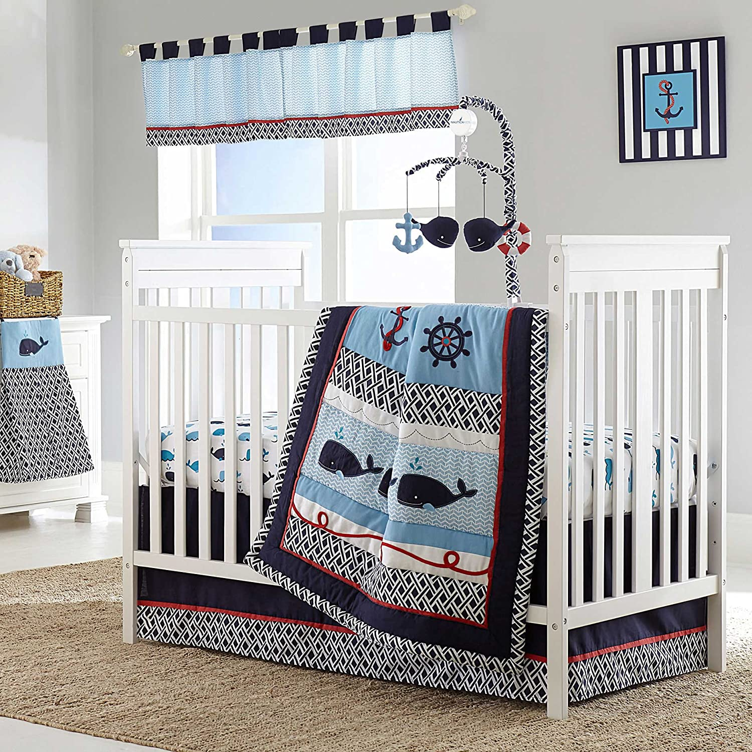 worth comfortable wood night lamp nursery stand bed ideas table brown that boy bedding are crib with buying sets baby round combine