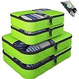 Bingonia , Organizer per valigie  Nero verde
