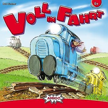 Amigo 00610 Voll in Fahrt - Juego de Mesa [Importado de Alemania]: Lindner, Bob: Amazon.es: Juguetes y juegos