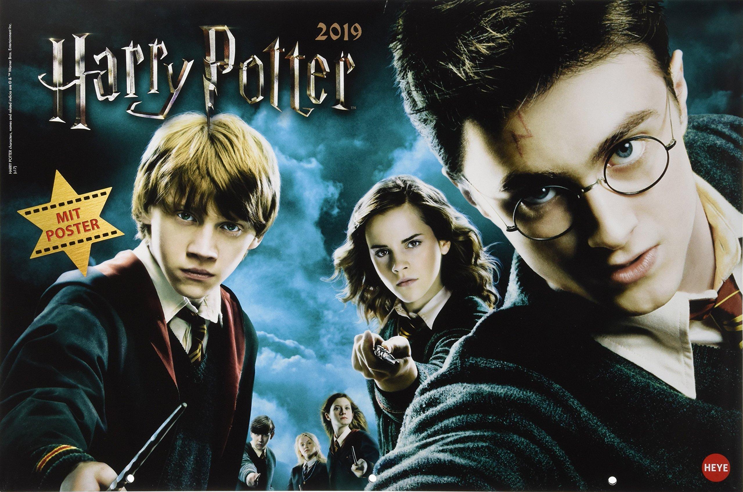 Harry Potter Broschur XL - Kalender 2019: Amazon.es: Heye ...