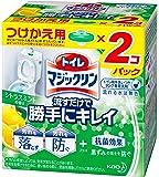 トイレマジックリン トイレ用洗剤 流すだけで勝手にキレイ シトラスミントの香り 付替用 2個
