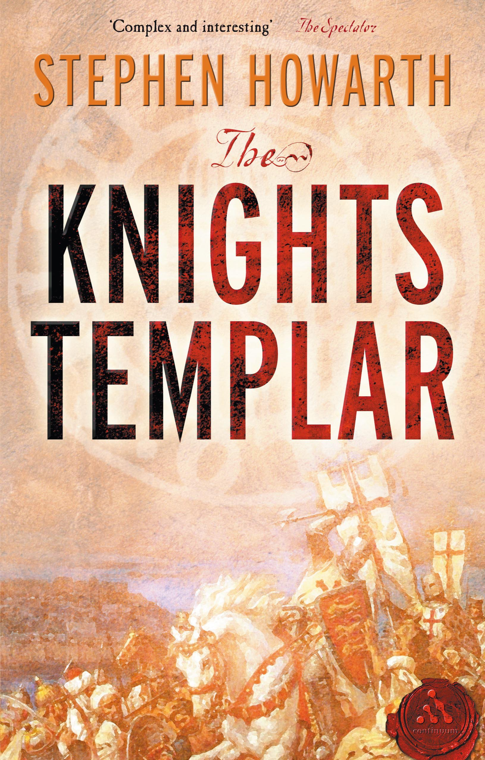 the words of stephen howarth in the knights templar