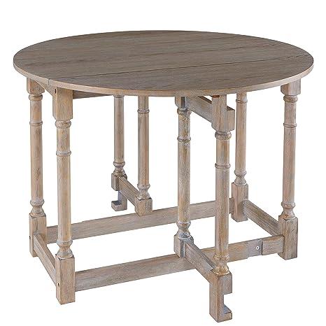 Gateleg Convertible Dining Table Farmhouse