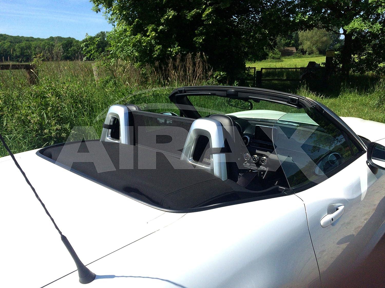 AIRAX Windschott für Fiat 124 Spider Stahlrahmen mit Netz & Tasche ...