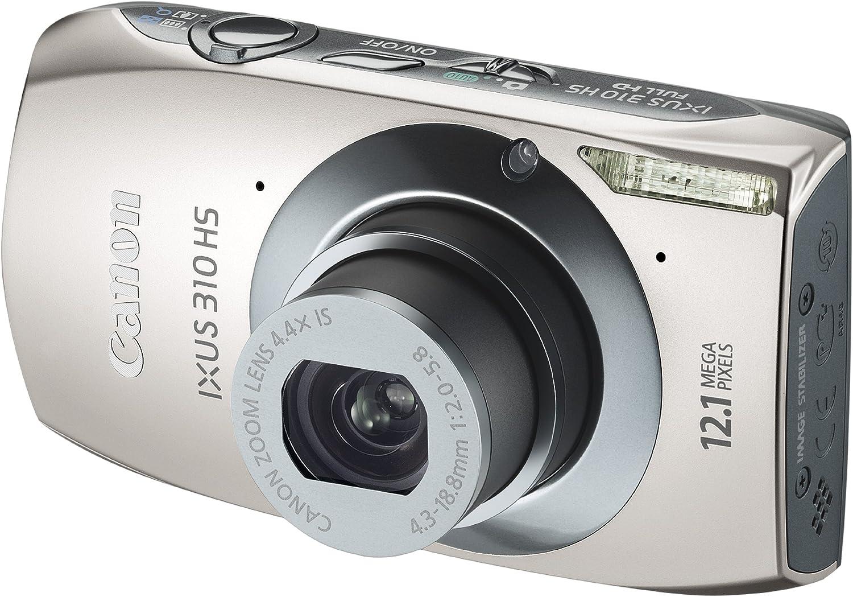 Canon Ixus 310 Hs Digitalkamera 3 2 Zoll Silber Kamera