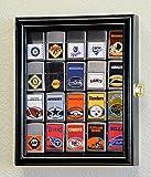 20 Zippo Lighter Display Case Cabinet Holder Wall Rack Box - Lockable