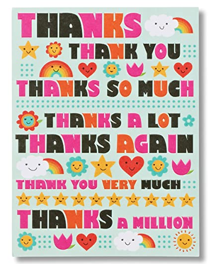 Amazon american greetings cant thank you enough thank you american greetings cant thank you enough thank you card m4hsunfo