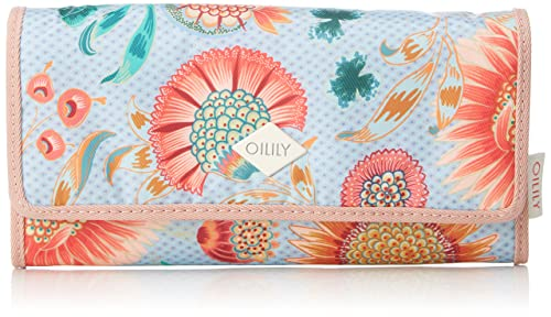 Oilily - Groovy Sunflower Purse Lh12f, Carteras Mujer, Azul (Light Blue),