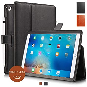 KAVAJ Funda de Piel London para Apple iPad 2019 10.2