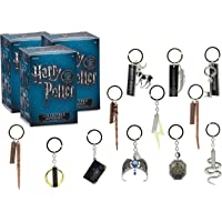 Harry Potter Collectible Key Chain Mystery Blind Box, 3 Pack - Receive 3 of 12 Mystery Key Rings - Spells, Wands and…