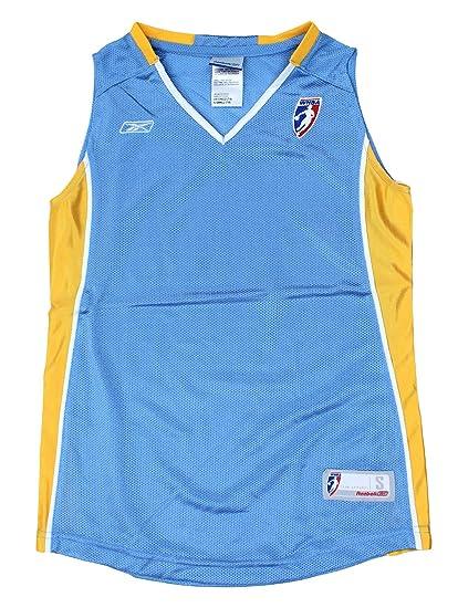 edcf00c4702 Amazon.com : Chicago Sky WNBA Big Girls Blank Basketball Jersey, Sky Blue :  Sports & Outdoors