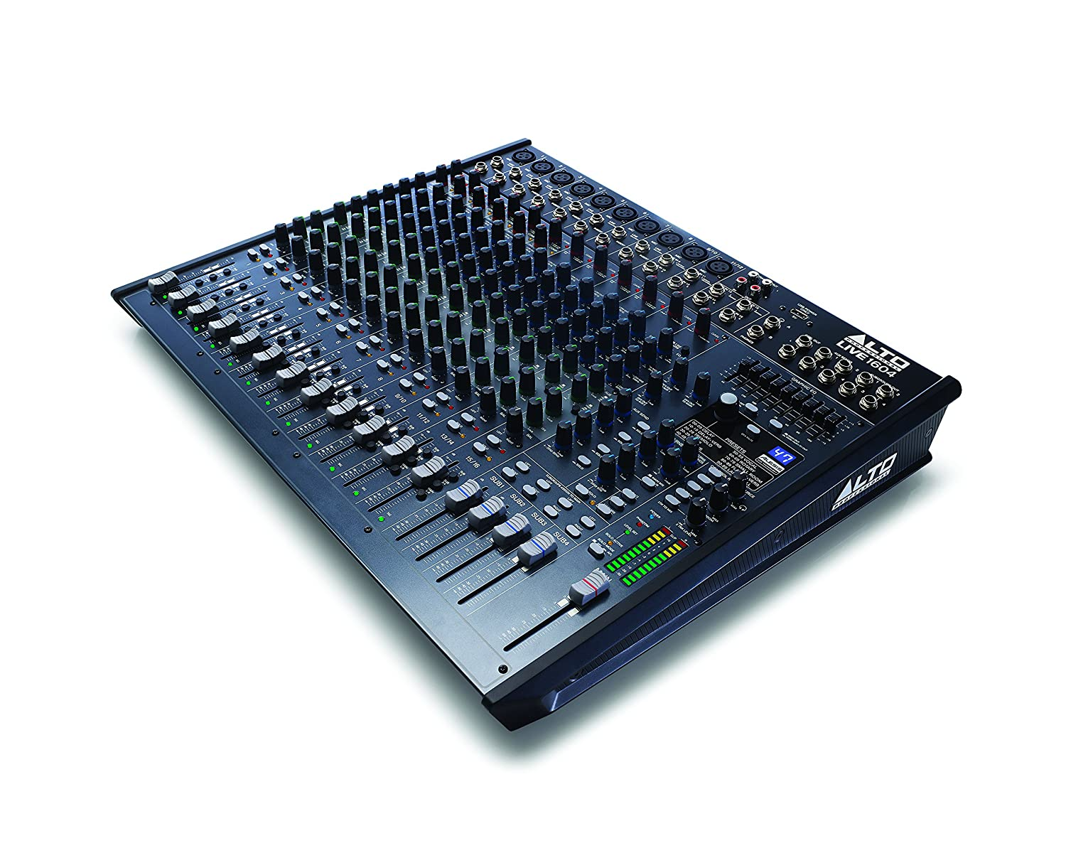 Amazon.com: Alto Professional Live 1604 | 16-Channel / 4-Bus Mixer with 10 XLR inputs: Musical Instruments