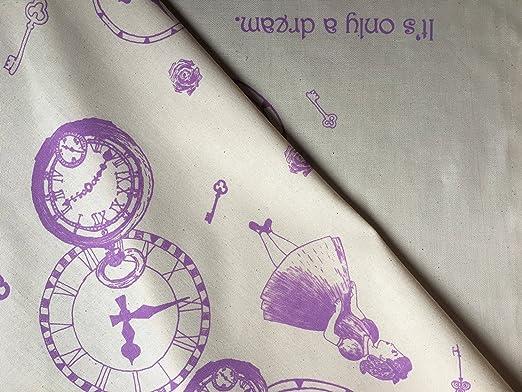 Toalla de cocina paño de cocina - Alice en Wonderland cocina -100% lino y algodón 78 x 48 misterio niña accesorios para el hogar - regalo para madre ...