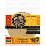 La Tortilla Factory High Fibre Whole Wheat Tortillas, 10-Pack of Non-GMO Tortillas, 360gm