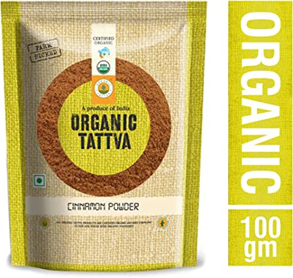Organic Tattva Cinnamon Powder, 100g