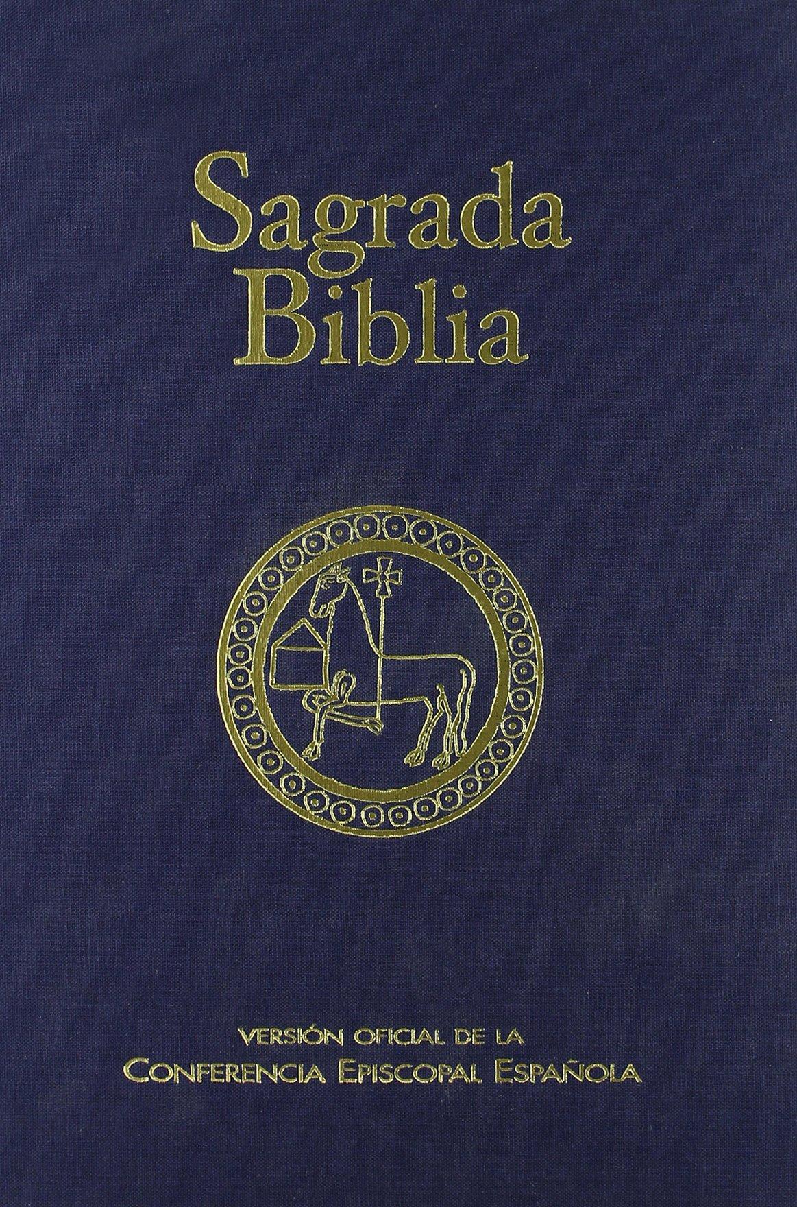 Sagrada Biblia ed. típica - tela : Versión oficial de la Conferencia Episcopal Española: 101 EDICIONES BÍBLICAS: Amazon.es: Conferencia Episcopal Española: Libros