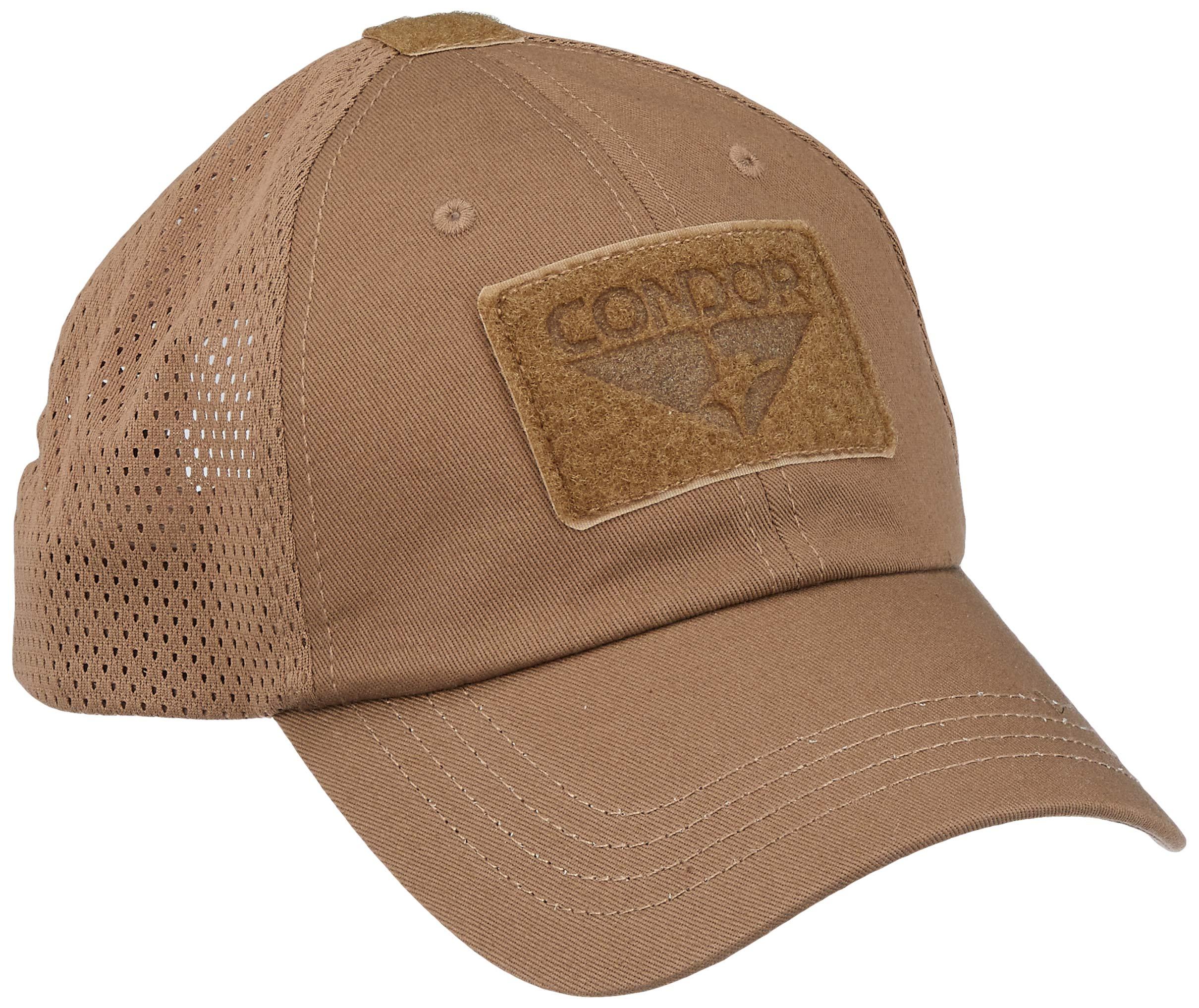 Condor Mesh Tactical Cap Brown