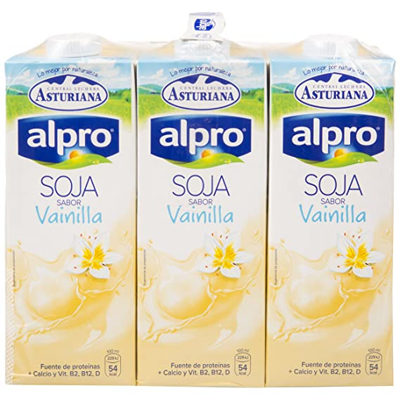 Alpro Central Lechera Asturiana Bebida de Soja Sabor ...