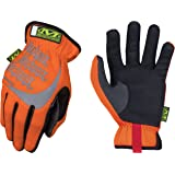 Mechanix Wear - Hi-Viz FastFit Gloves (Large, Fluorescent Orange)