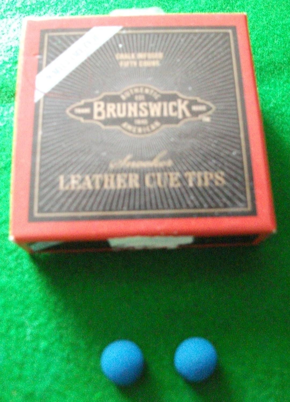BRUNSWICK - Lote de 2 puntas para taco de billar (9 mm): Amazon.es ...
