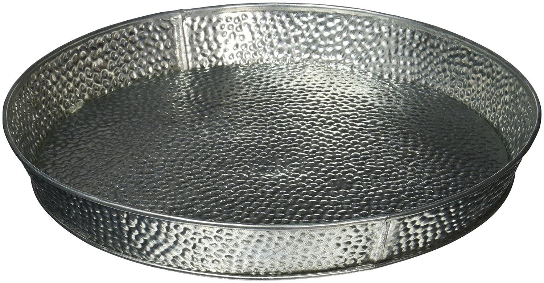TableCraft Products GP10 Dinner Platter Galvanized, 10.5