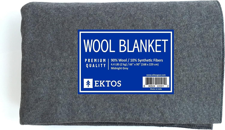 US surplus 100/% wool blanket 60x80 approx