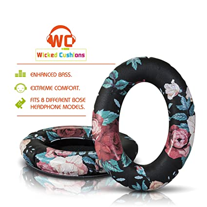 1bbd6ffe503 Wicked Cushions Bose Replacement Ear Pads Kit - Compatible with Quietcomfort  2 / Quiet Comfort 15