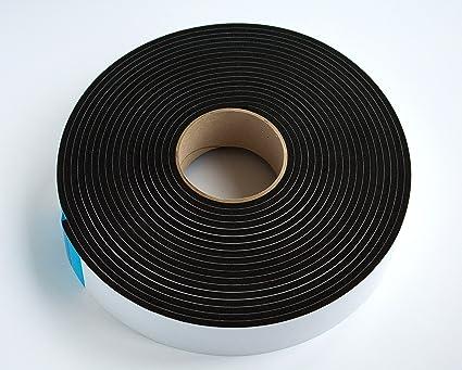 Bande disolation phonique 50 mm de large x 5/mm d/'/épaisseur x 10/m de long