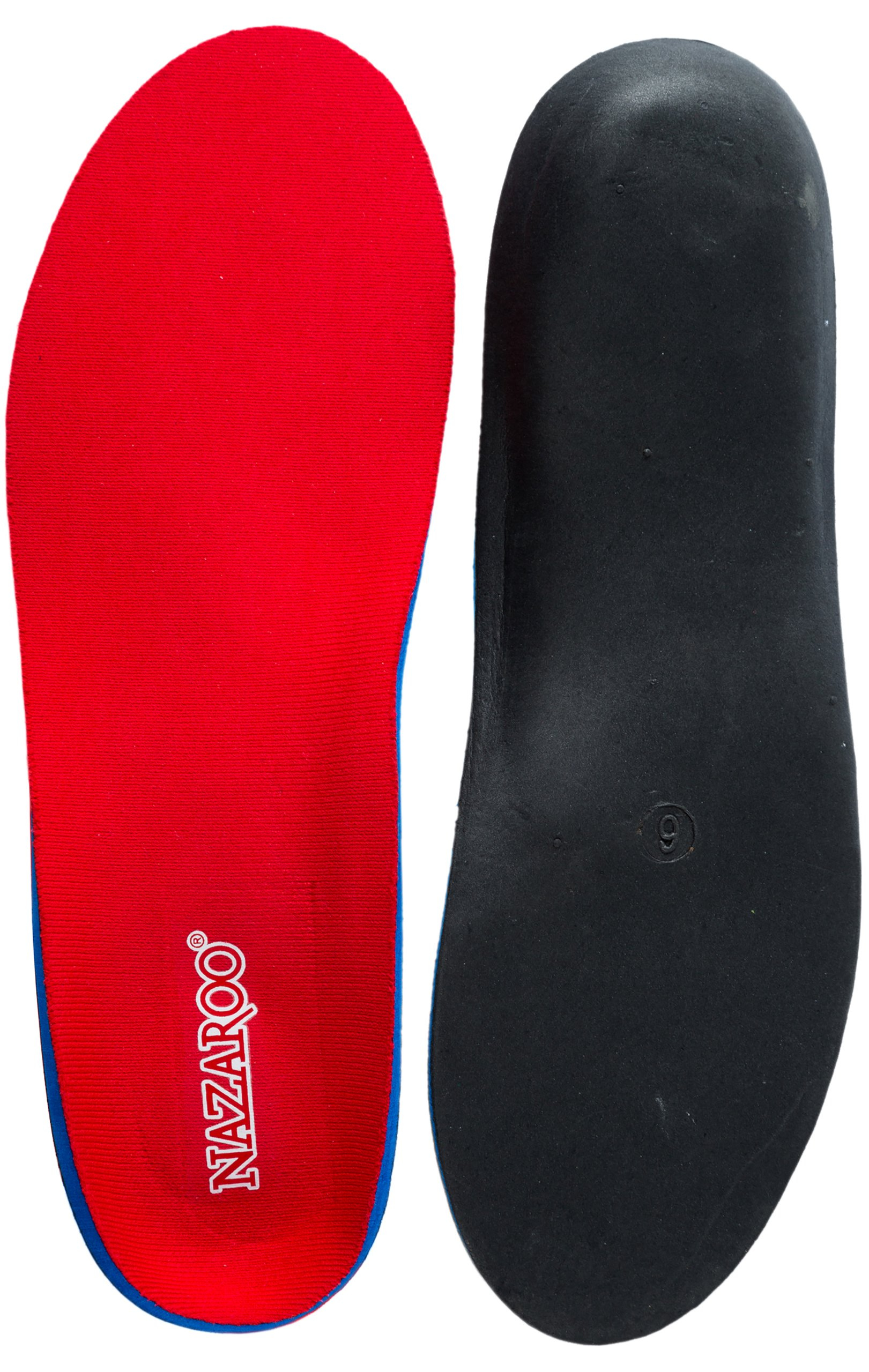 Orthotics for Flat Feet - Shoe Insoles For Heel Pain, Plantar Fasciitis, Fallen Arches Support (Mens 16-16 1/2)