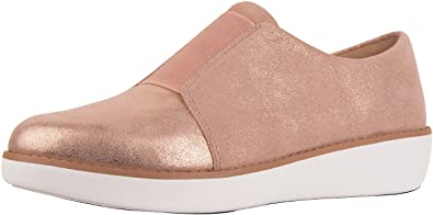 bb97a1907be2 FitFlop Women s Laceless Derby Glimmersuede Shoes