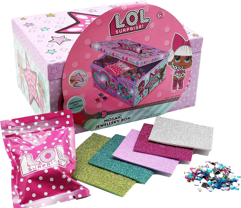 Porta Gioie per Bambina Scatola Bambole LOL attivita Creativa Bambine Confetti