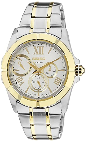 56def6c282f Image Unavailable. Image not available for. Colour  Seiko Lord Chronograph White  Dial Men s Watch ...