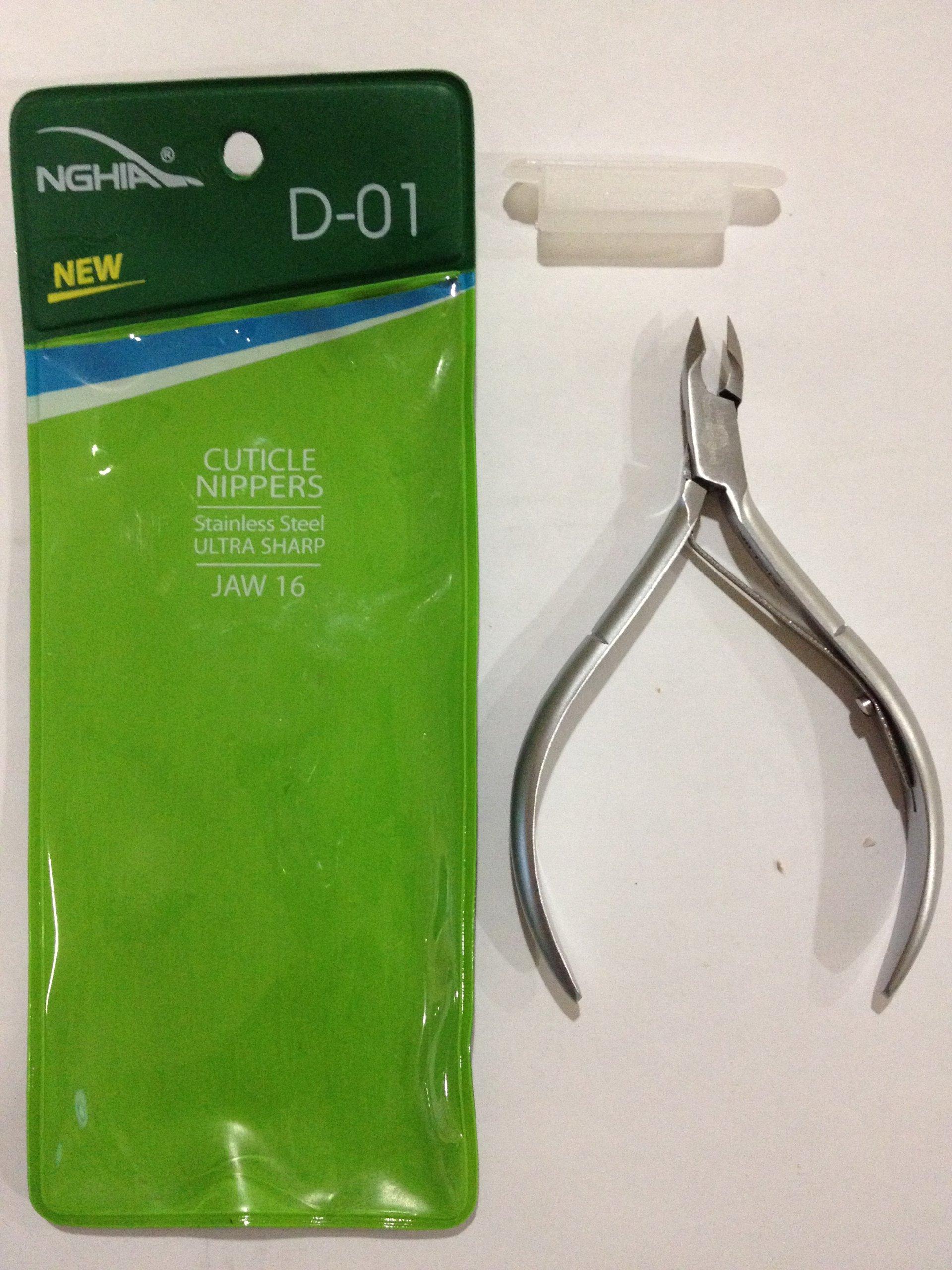 Nghia cuticle nippers D-01 jaw16 (D01 16)