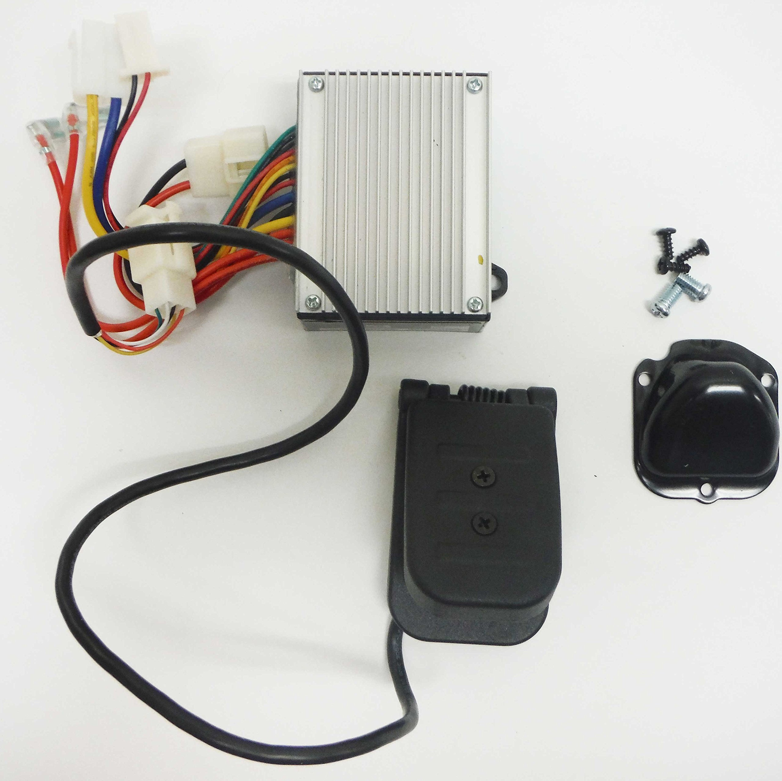 Crazy Cart Electrical Kit (7 Connector/Control Module & Foot Pedal) by Razor