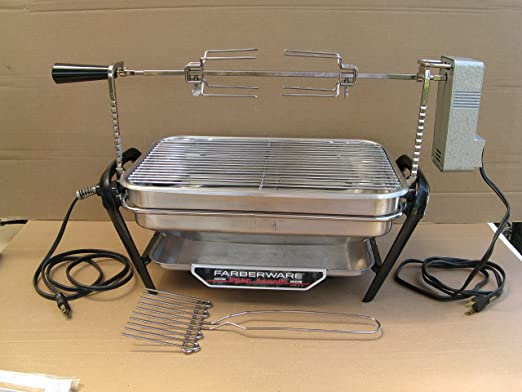 Farberware Open Hearth Rotisserie Drip Tray Pan Electric Indoor Grill Part