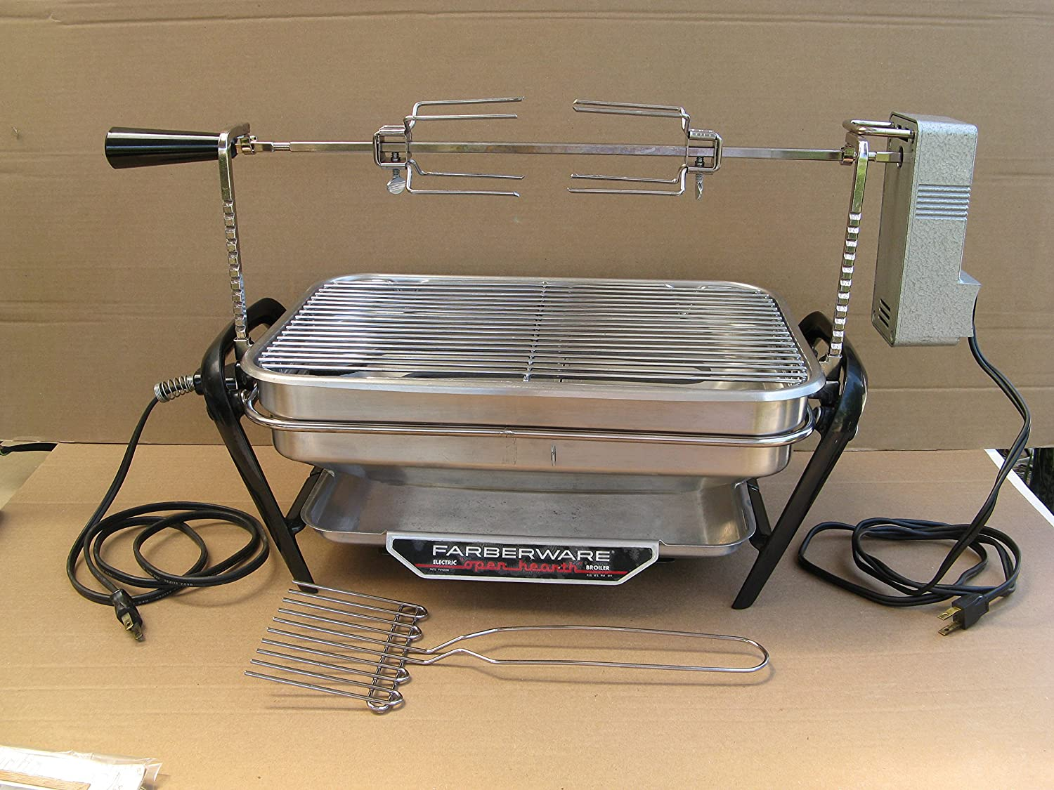Farberware Open Hearth Broiler & Rotisserie