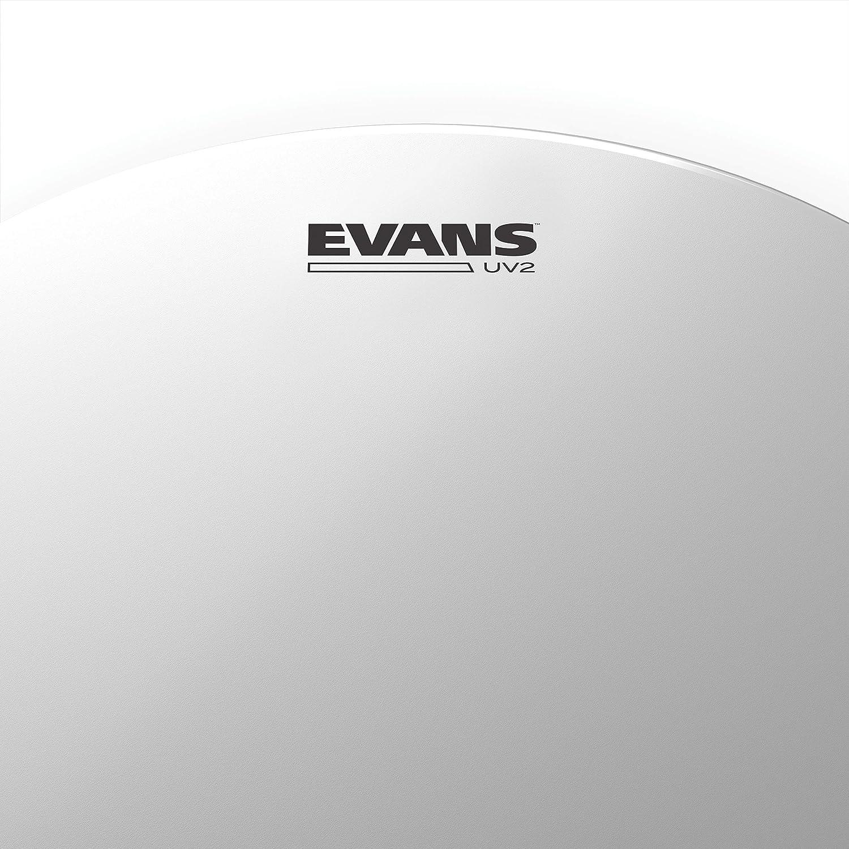 Parche rugoso 14 pulgadas Evans UV2 Cabeza /Único