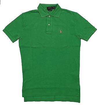Ralph Lauren Mens Classic Fit Mesh Pony Logo Polo Shirt (X-Small, Caymen