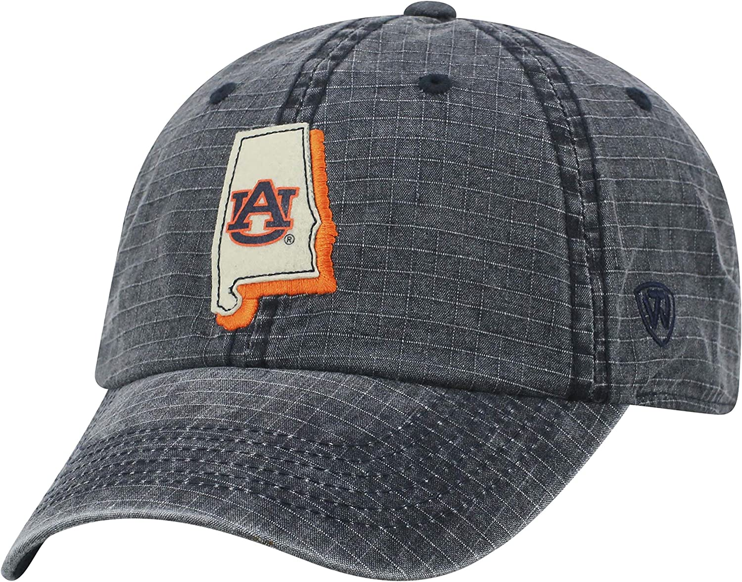 Illinois Fighting Illini Triple Conference Hat Adjustable Cap Top Of The World