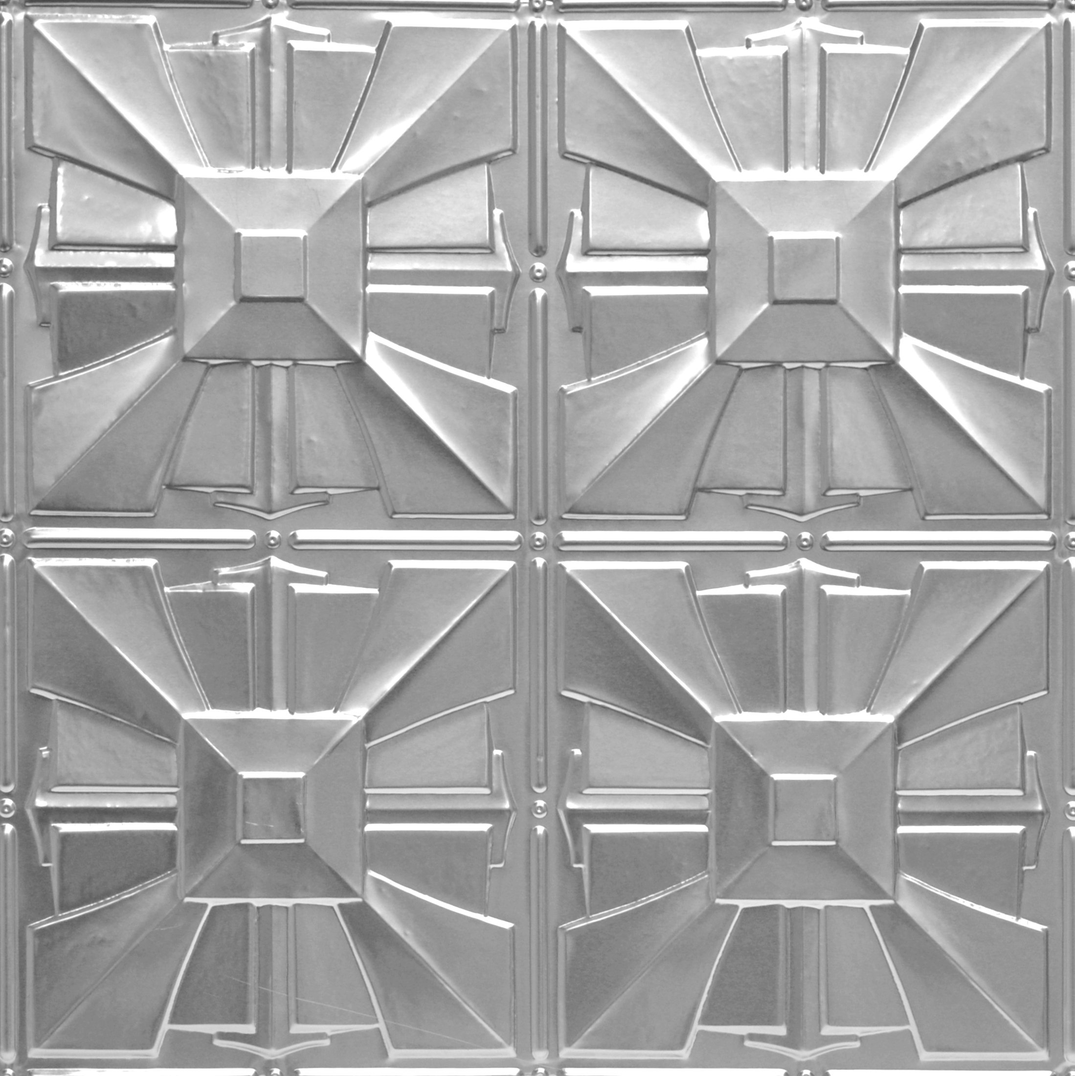 Shanko LS314DA Pattern 314 Authentic Pressed Metal Wall and Ceiling Tiles, 20 sq. ft., Lacquered Steel
