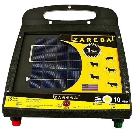 Amazon zareba esp10m z 10 mile solar low impedance fence zareba esp10m z 10 mile solar low impedance fence charger sciox Choice Image