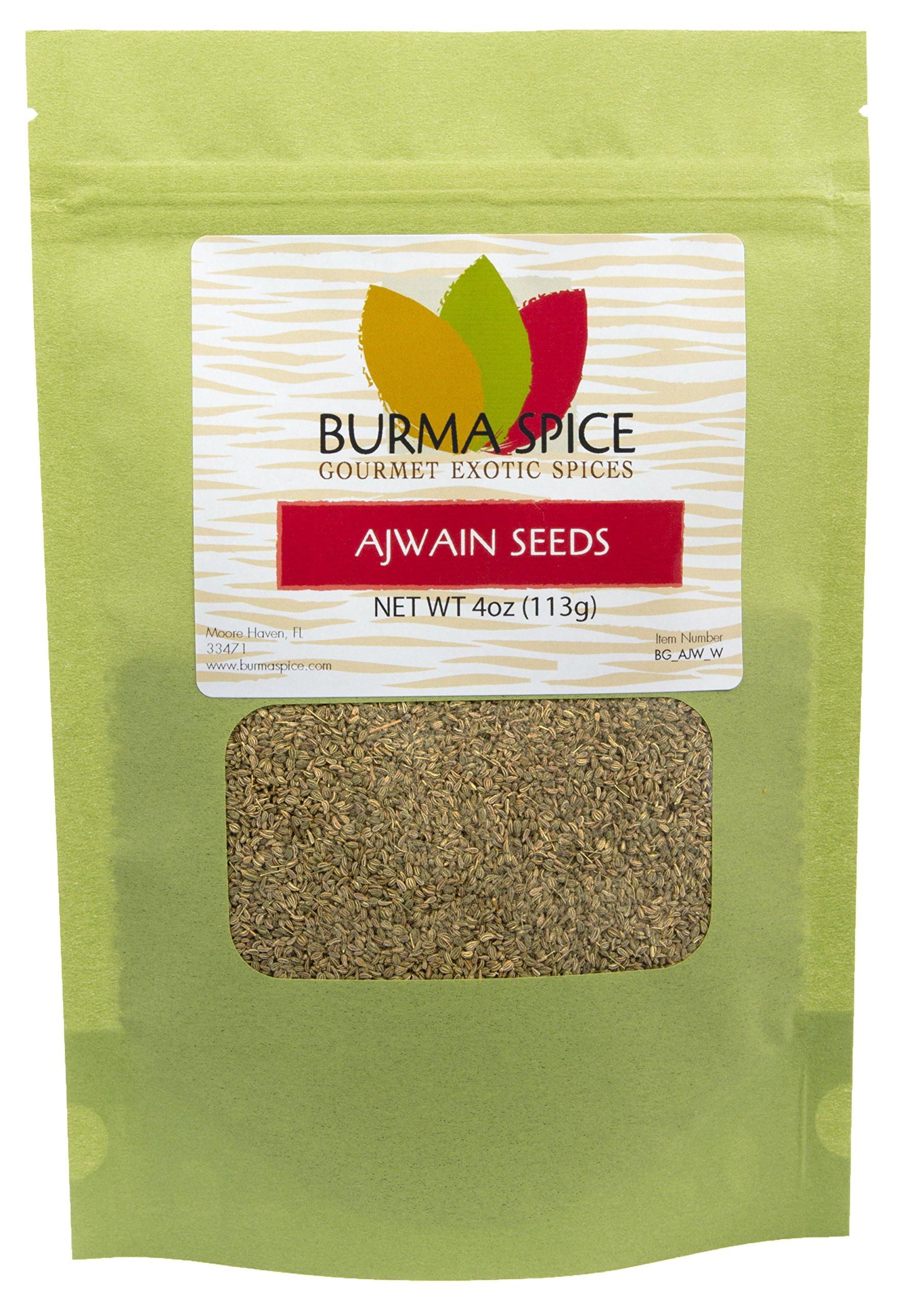 Ajwain Seeds : Whole Indian Spice Kosher (4oz.)